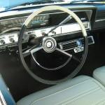 Interior of a 1965 Rambler Classic 770 convertible